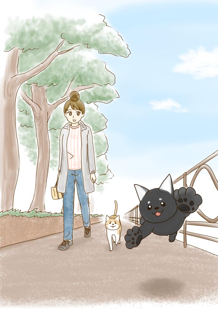 今日は、お散歩日和でした。#ネコの手借りてます #猫をTLに流しちゃおう #マンガボックス #猫のいる暮らし