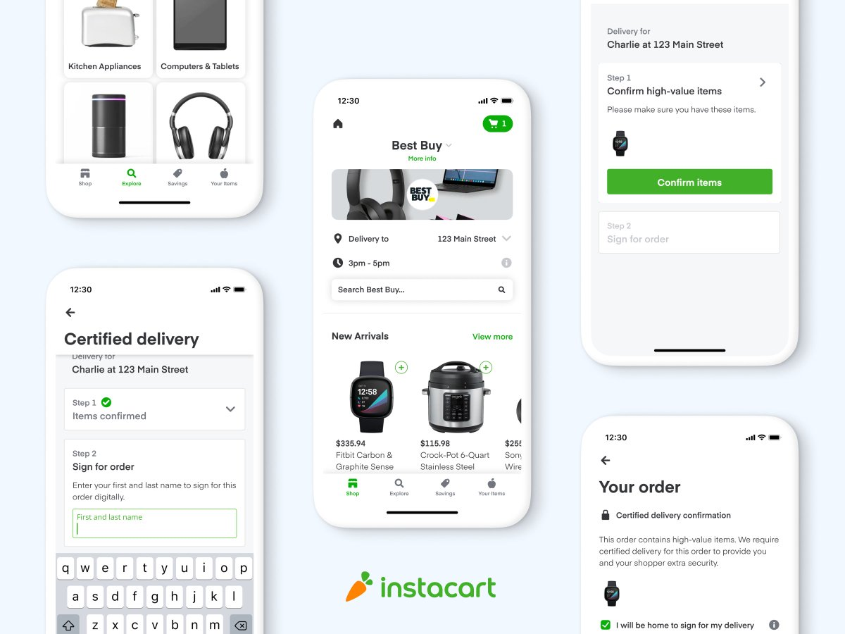 Best Buy partners with Instacart for same-day delivery across the entire US https://t.co/8cMlJ1Qjts https://t.co/3aQXy831Dr