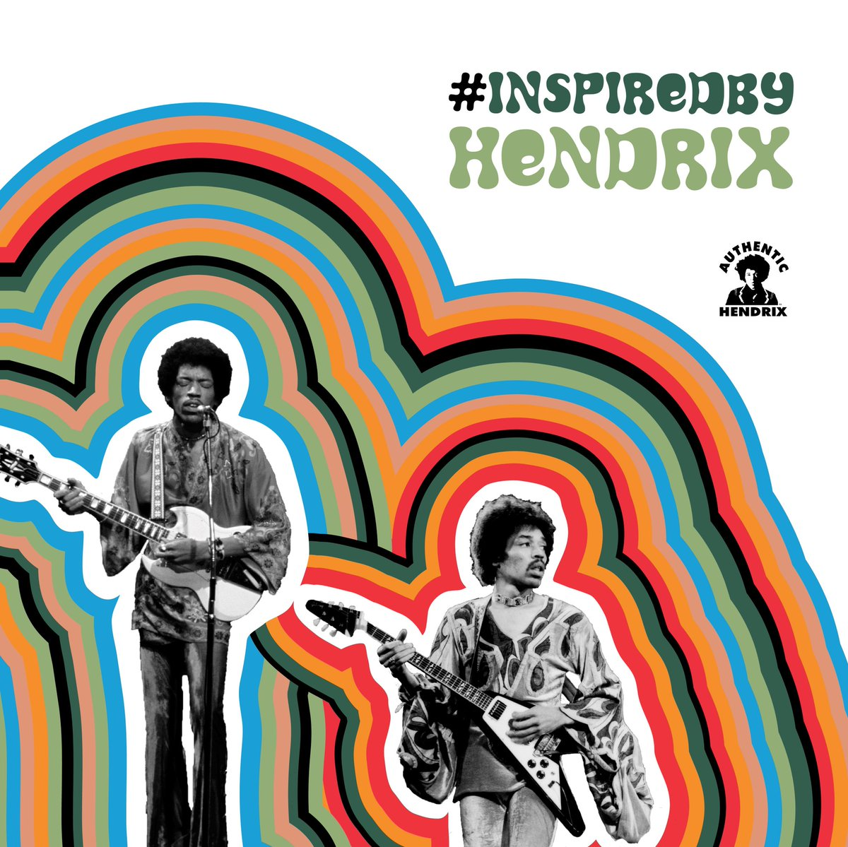 How are you #InspiredByHendrix? Share your favorite @JimiHendrix lick, a story of how Jimi influenced you, or recreate your favorite Hendrix moment (fashion or performance). Tag us on Instagram and you could find yourself center stage in our story this Week!