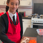 Ready, steady, cook! The Year 7's have been making Bolognese sauce in Home Economics this week. Parents… if you need help in the kitchen, you know who to ask! #copthorneprep #homeeconomics #year7 #prepschool #sussex