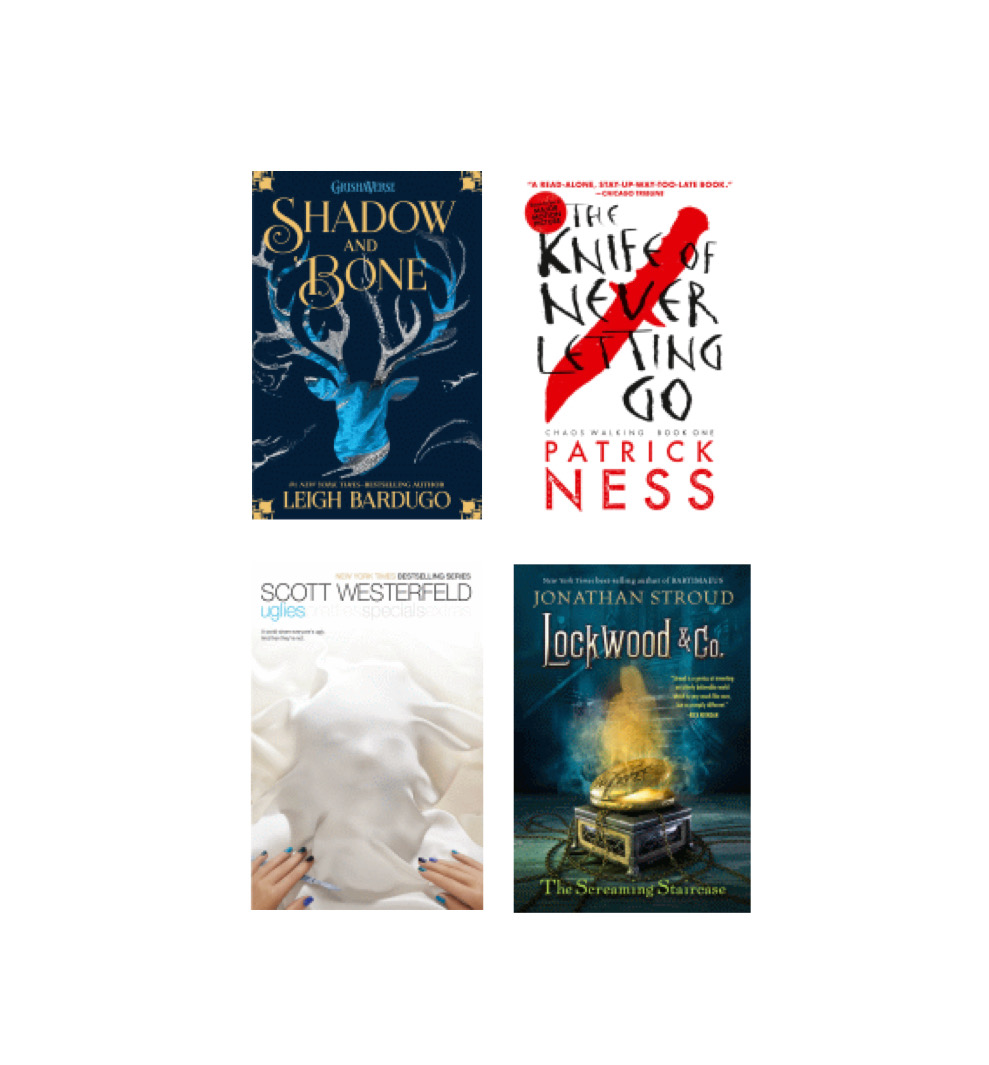 For Character Day, read before you watch! These book series will be made into TV shows or movies in 2021! Available as print or ebooks. <a target='_blank' href='http://search.twitter.com/search?q=wmsreads'><a target='_blank' href='https://twitter.com/hashtag/wmsreads?src=hash'>#wmsreads</a></a> <a target='_blank' href='http://twitter.com/wmspta_wolves'>@wmspta_wolves</a> <a target='_blank' href='http://twitter.com/BoykinBryan'>@BoykinBryan</a> <a target='_blank' href='http://search.twitter.com/search?q=wmsspiritweek'><a target='_blank' href='https://twitter.com/hashtag/wmsspiritweek?src=hash'>#wmsspiritweek</a></a> <a target='_blank' href='https://t.co/F0eMArpFiI'>https://t.co/F0eMArpFiI</a>