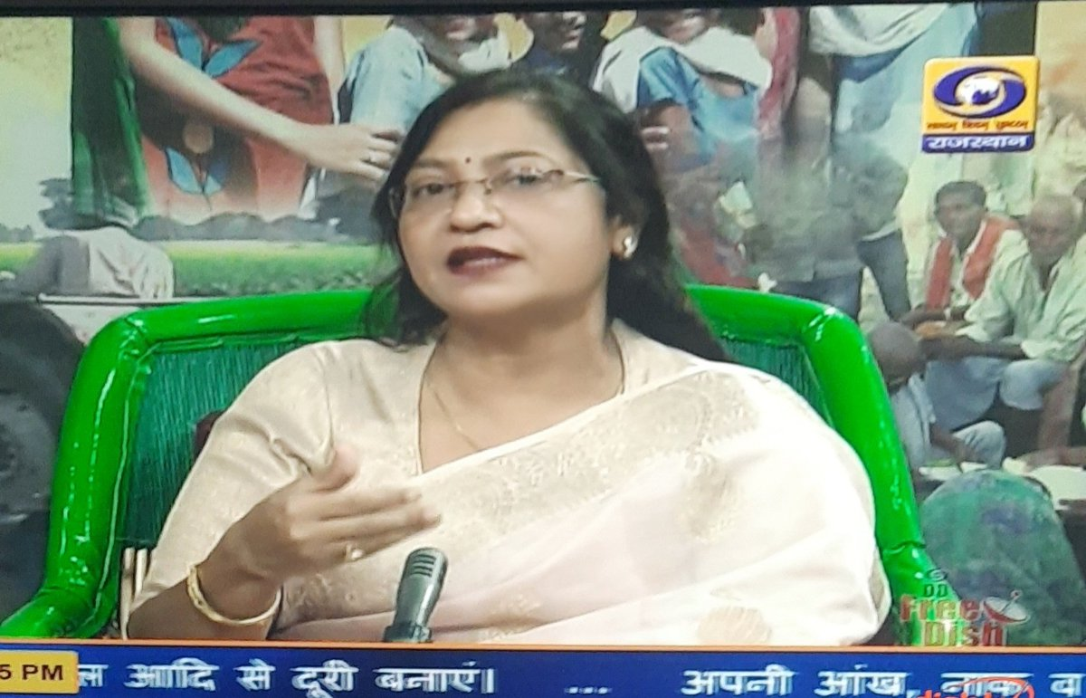 Hosted @ddrajasthan, Choupal on Atamnirbhar Bharat Abhiyan. #atamnirbharbharat