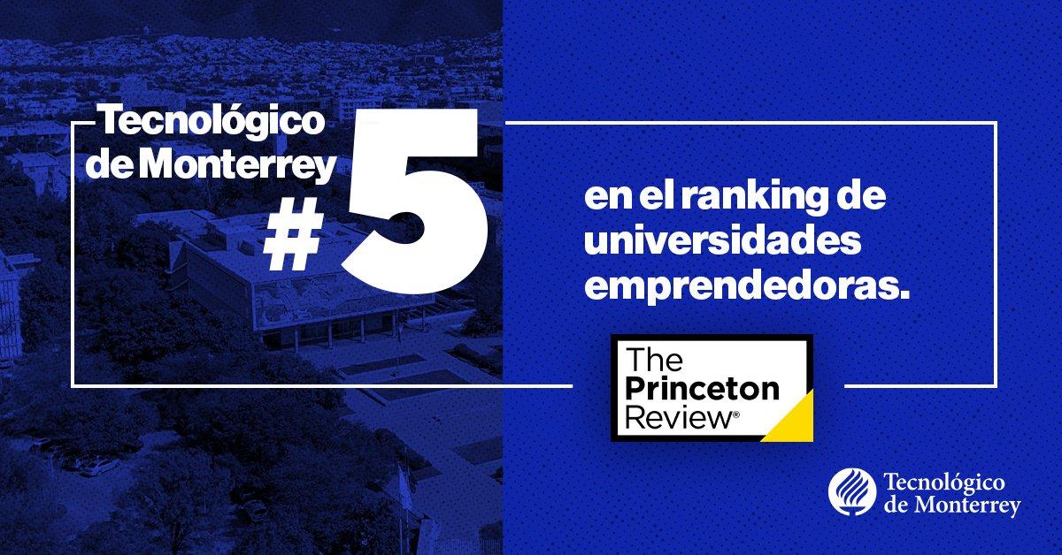 Estamos dentro del Top5 de las mejores universidades emprendedoras 2021 en el Ranking de @ThePrincetonRev.  Hoy, reafirmamos nuestro compromiso de formar líderes con espíritu emprendedor y refrendamos nuestra apuesta por el emprendimiento. https://t.co/J8iPDxgowU https://t.co/FY3PzMz3VJ