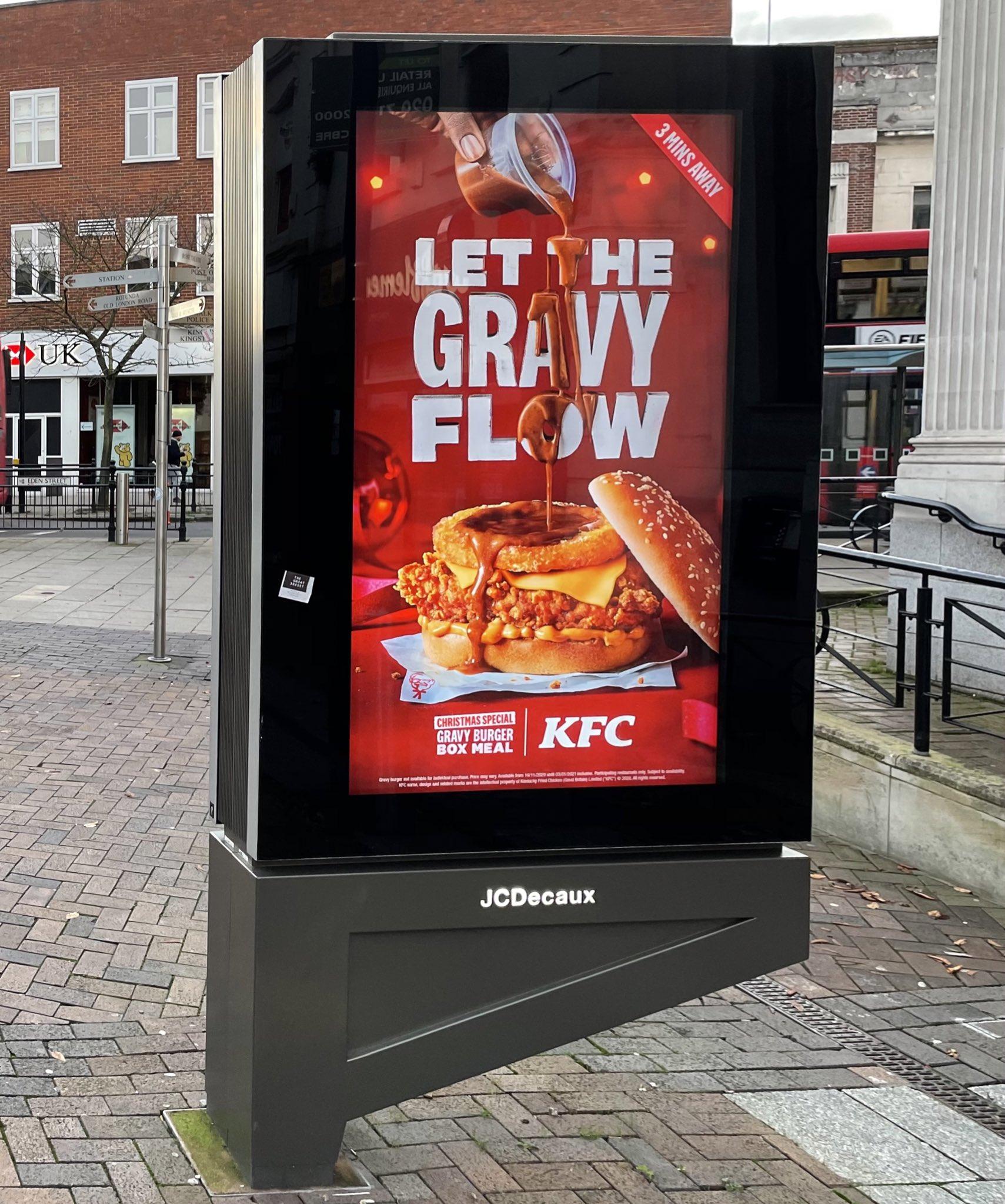Well This Is New On Twitter Christmas Special Gravy Burger Box Meal At Kfc Kfc Uki Kfc Gravy Gravyburgerbox Burger Chicken Kfcgravy Christmas Wellthisisnew Https T Co Bygcfgmg3z
