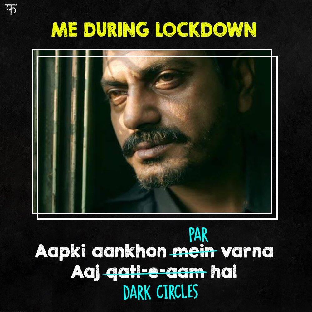 The circle of lockdown life! 😛 #RamanRaghav2.0 @Nawazuddin_S