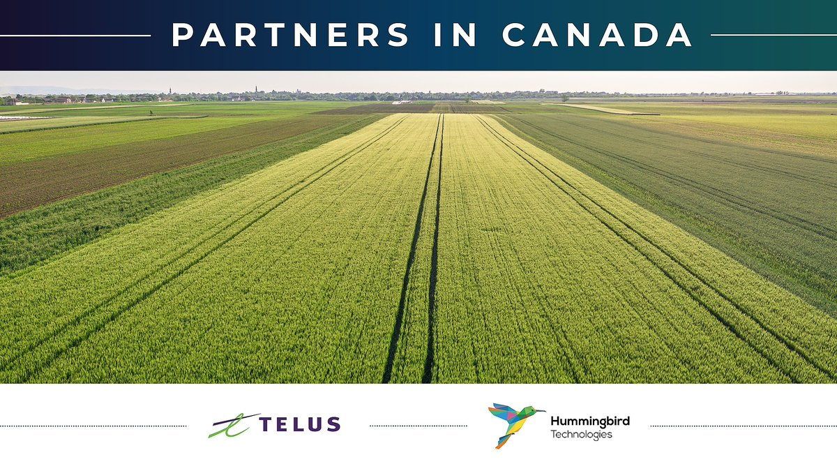 Exciting to see our partner and emerging tech superpower @TELUS_Ag take shape.  8 acquisitions, hundreds of millions of acres and billions of data points already under management!🎉🎉🎉  @TELUS launches fresh new #TELUSAgriculture business: see https://t.co/wJiEg5sSLP https://t.co/neywvSV4UQ