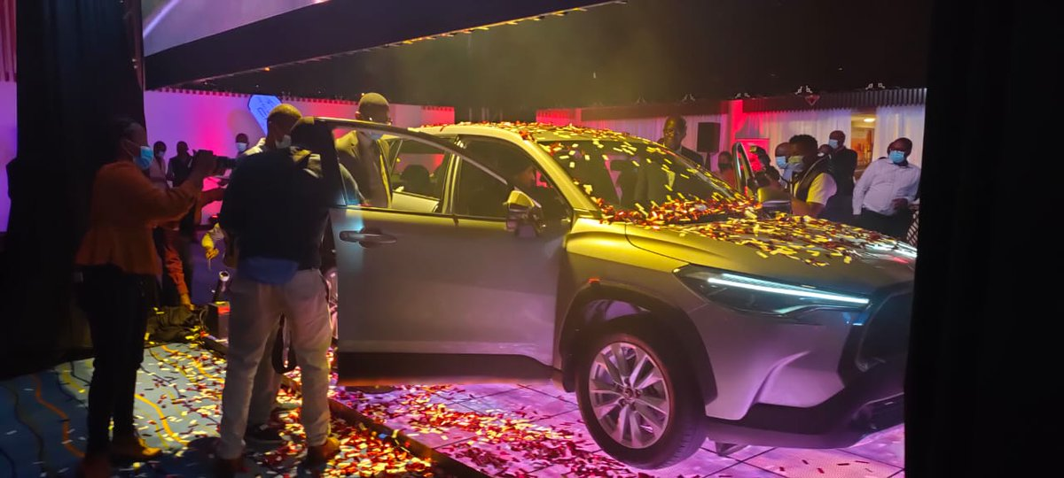 Toyota Kenya has launched the Corolla Cross in the Kenyan market, a crossover for the Corolla from the traditional sedan to a new compact SUV feel #ANewJourney #ToyotaCrossKenya https://t.co/FHIvtPMDq1