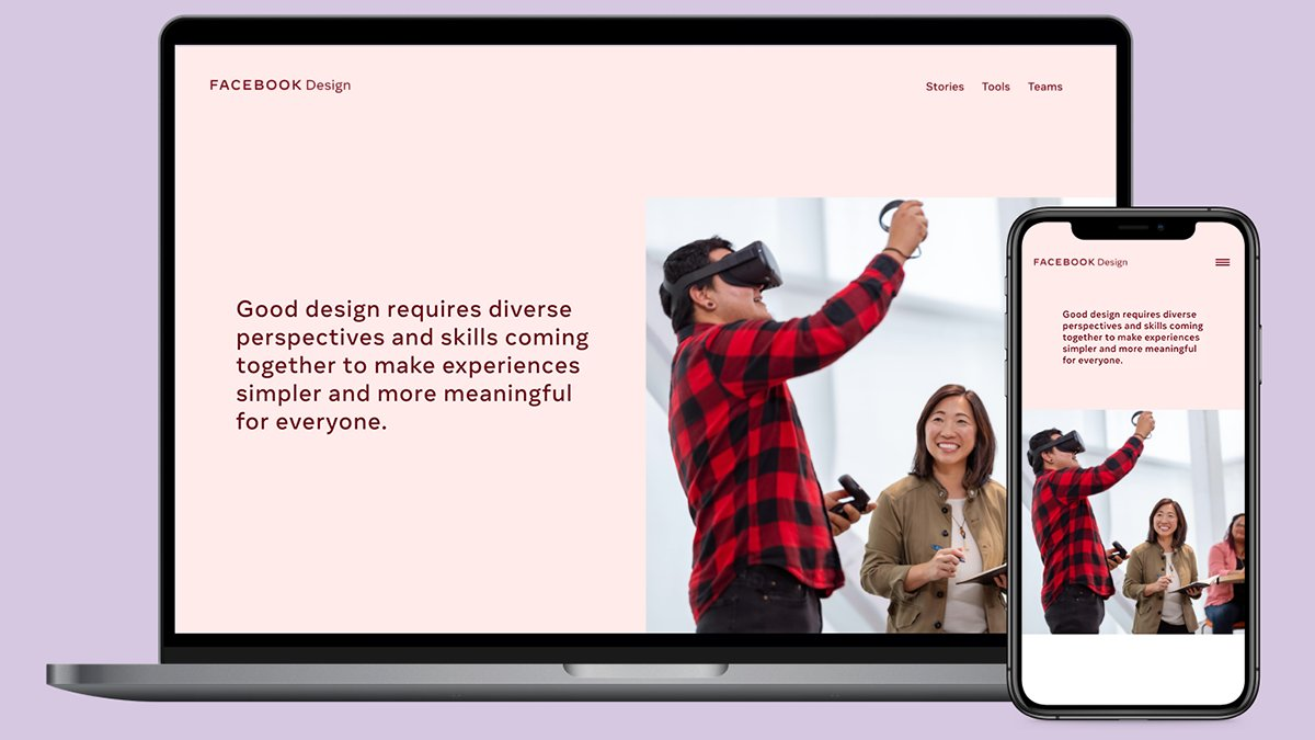 We're excited to announce the launch of our new #FacebookDesign website, designed to better serve all of you with more stories, best practices and tools. Find out more and take a peek into our discovery process:
