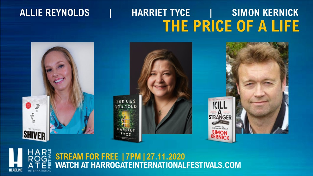 We are in safe hands with The Price of A Life as the panel is being chaired by author @Lauren_C_North who also hosts the In Suspense podcast.  Find out more about the event taking place next Friday: https://t.co/0ApuqEc5SH  @headlinepg #FreeEvents #DigitalEvents #Thriller #Books https://t.co/bFsCs1eTTt