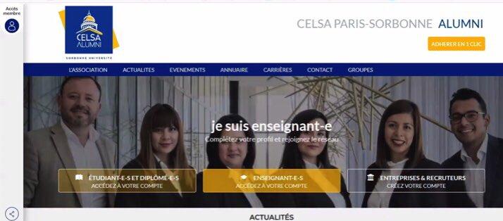 Merci @AssaelAdary & @eve_bourgois pour cette chaleureuse présentation de @CelsaAlumni aux étudiants en L3 au @CELSA_Officiel.