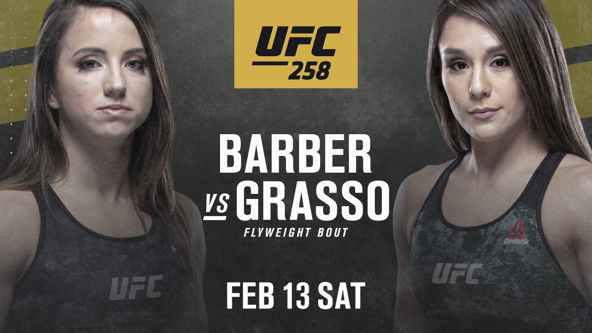 Rising prospects look to stamp themselves as contenders 👏   @MayceeBarber vs @AlexaGrasso is official for February! https://t.co/vv3RglTsPe