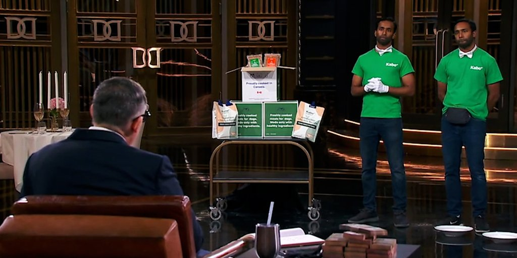 Kabo, a #startup from our Canada Accelerator, recently entered the @cbcdragon to pitch their idea for a fresh dog food delivery service, walking out with a deal with @MicheleRomanow.  Congrats to the team — check out some highlights from their appearance:
