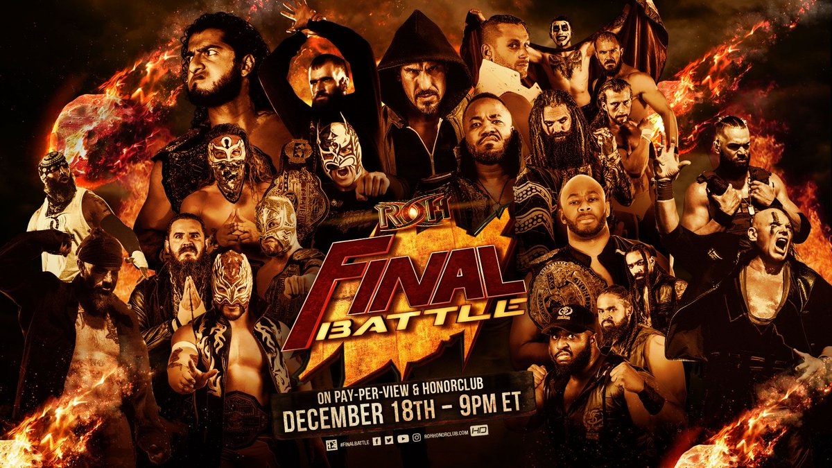 Every Title To Be Defended At ROH Final Battle