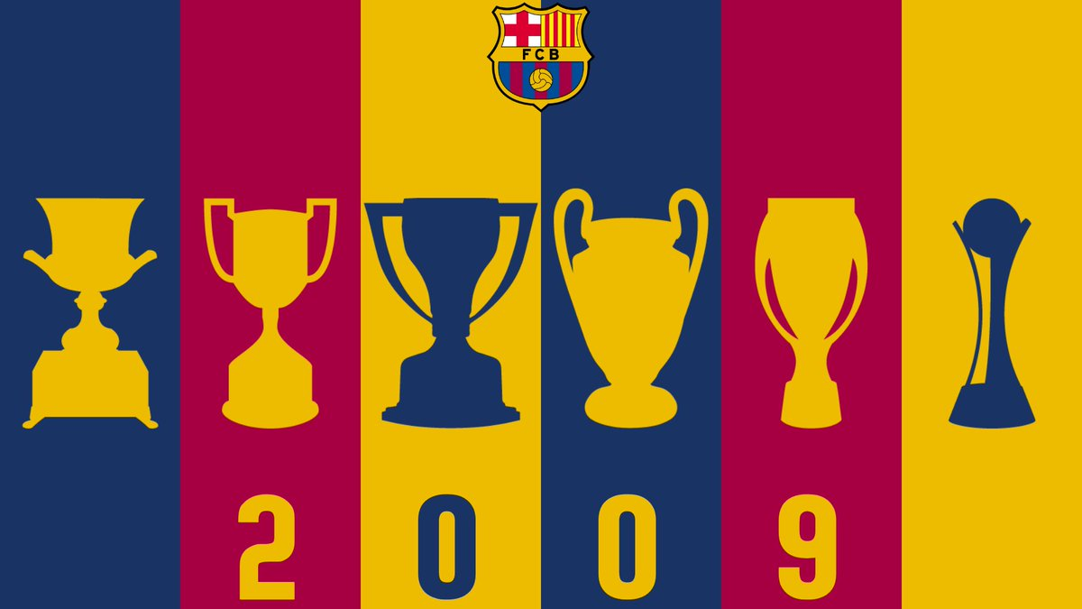 Barca 2009 🏆🏆🏆🏆🏆🏆 https://t.co/PtlQxx5j2W