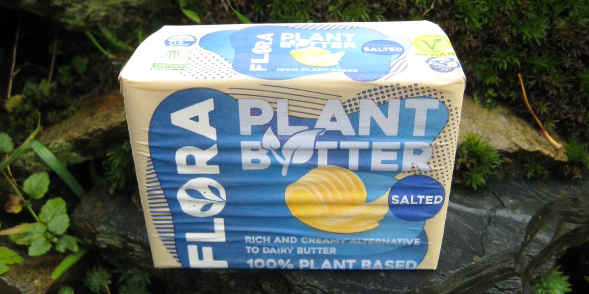 What are your thoughts on Flora? 🤔 Flora Plant Butter @FloraPlantBased. #Flora #veganhour