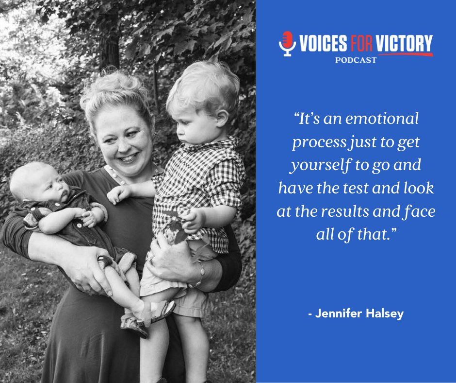 #ICYMI Listen in to our latest #VoicesforVictory #podcast episode to get insights from a scientist and a patient on the impacts of the BRCA gene mutation:  #victoryovercancer