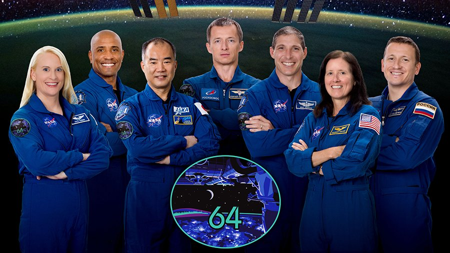 From 3⃣ to 7⃣ crewmembers, the Expedition 64 team expanded overnight!  The newest station astronauts are asleep today following a 27-hour-and-half trip from @NASAKennedy to the @Space_Station: https://t.co/k2J0LaVlPB https://t.co/LW9Tk3X04b