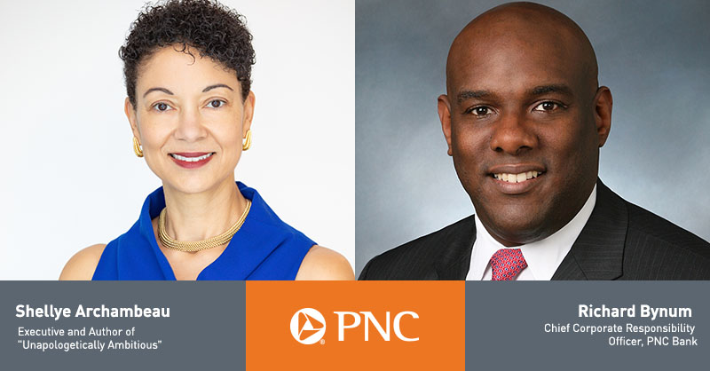 PNC chief corporate responsibility officer, Richard Bynum, recently hosted a discussion with Shellye Archambeau on her career, her experience as a Black female entrepreneur, and her advice for creating a diverse, inclusive workplace culture. Watch here: https://t.co/KYdO3G4MMT https://t.co/QLR5Rcrft4