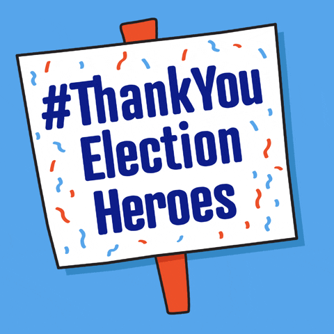 Election officials across our state worked tirelessly to make sure every ballot was counted and every voice was heard. It's time we said #ThankYouElectionHeroes  #AllinWisconsin and #ElectionHeroes