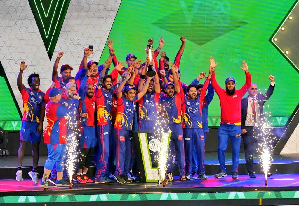 - Congratulations #KarachiKings and well played #LahoreQalandars