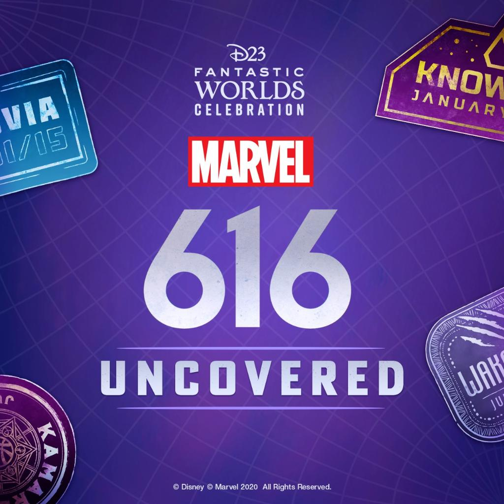 Get a glimpse into #Marvel616 in a special panel at 2PM PT today, then stick around for a conversation celebrating 80 years of Captain America at 3PM PT! Tune in at . #D23FantasticWorlds