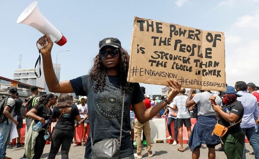 @SaharaReporters's photo on #EndSARS