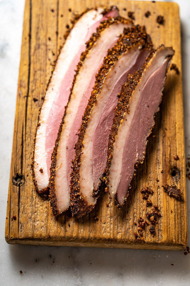 A duck pastrami recipe from the crew behind Brooklyn restaurant Olmsted eater.com/21569827/duck-…