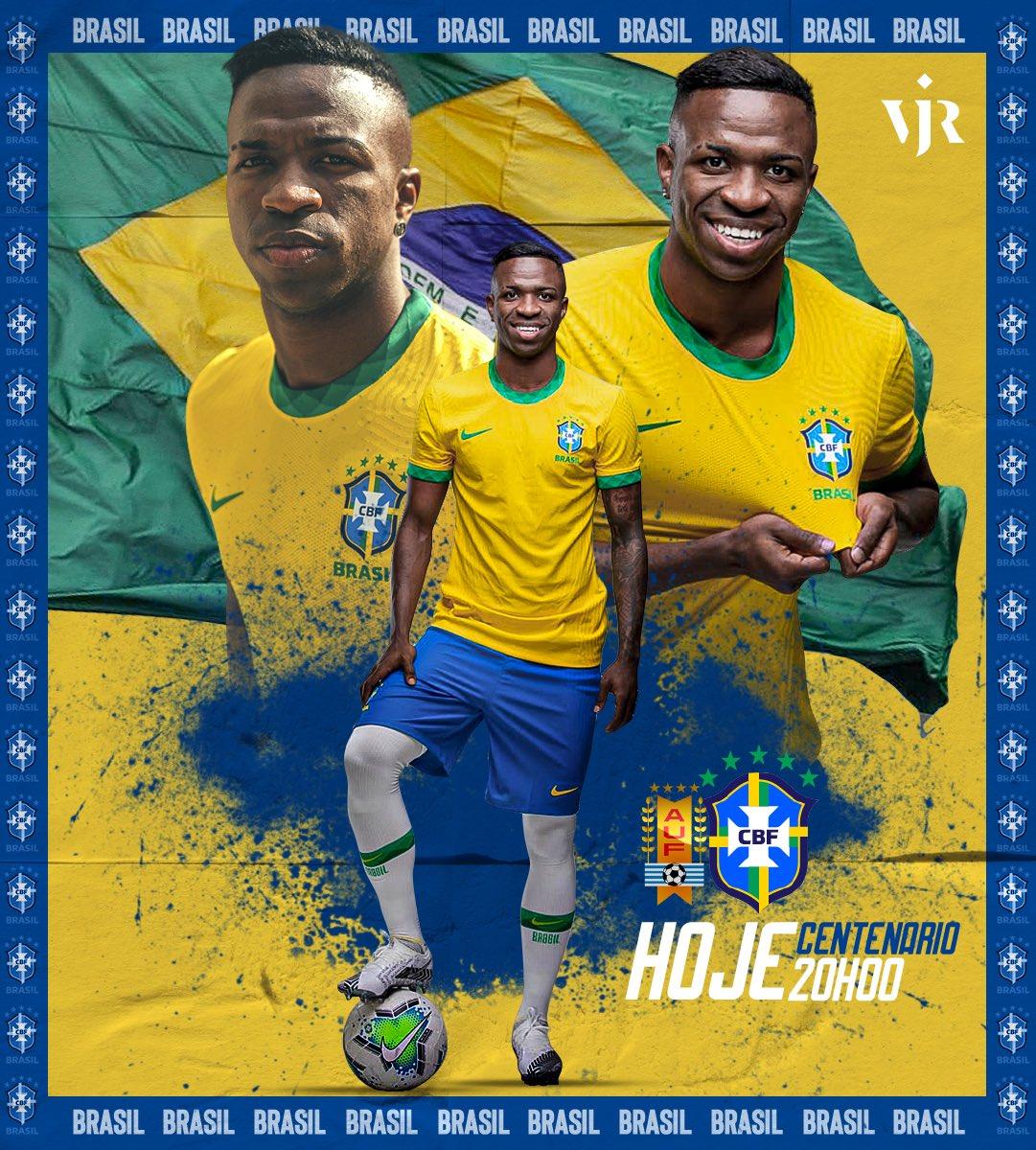 Alegria e ousadia sempre. Vamos Brasil! 🇧🇷⚽️🙌🏾