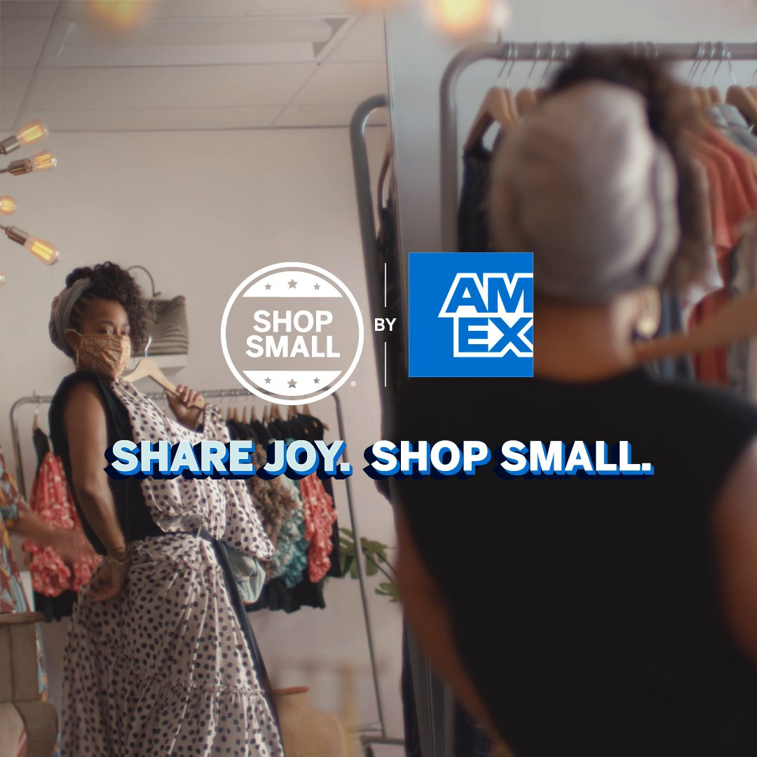 Find gifts you can't wait to give—and some you'll want to keep—while supporting your favorite small businesses. #ShopSmall at the independent stores, boutiques, and salons you love to share joy all season long.