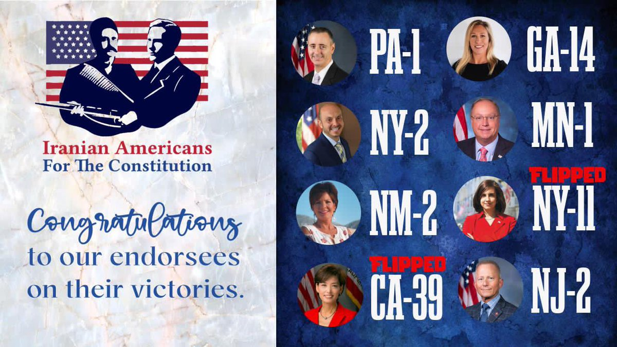 Congratulations to our endorsees on their victories.