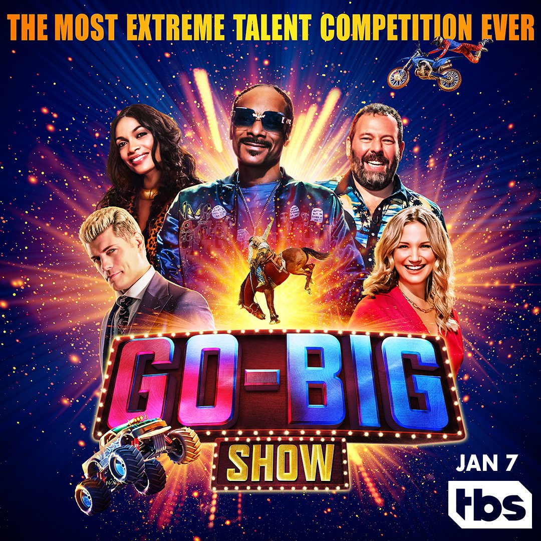 .@CodyRhodes does everything BIG - catch him on a new series @GoBigShowTBS premiering Jan. 7th