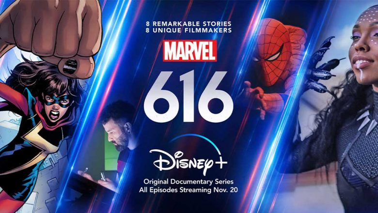 Paul Scheer, Gillian Jacobs, and Alison Brie discuss their #Marvel616 episodes:  #DisneyPlus #D23FantasticWorlds