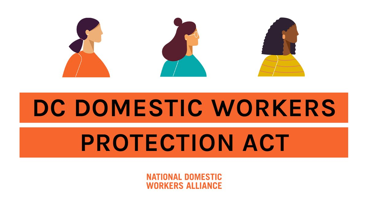 A D.C. Domestic Workers Bill of Rights lays the groundwork for a path to higher wages, written contracts, and a portable benefits system.    Tag your council member so they know you want them to pass this bill!