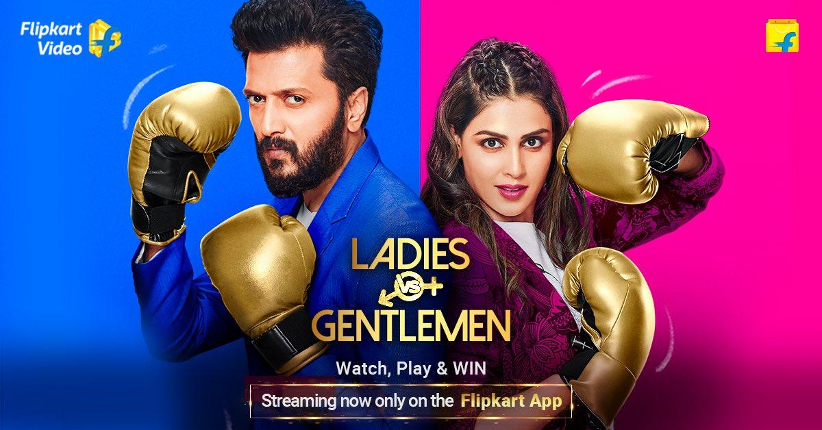 Aaj Se hoga asli muquabla shuru! Catch me with @geneliad on #LadiesVsGentlemen. Watch, Play, WIN now on @flipkartvideo only on the Flipkart App