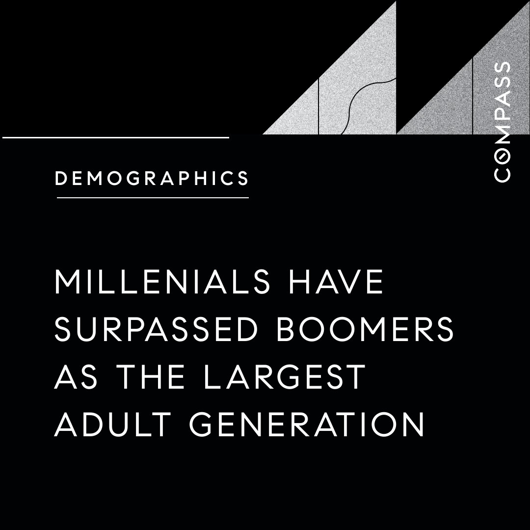 #demographics #millenials #boomers #adultgeneration #surpassing #changingoftheguard #losangeles #realestate #homes #homesales #helpingpeople #helpinghand #marketknowledge https://t.co/epfU0LCcII