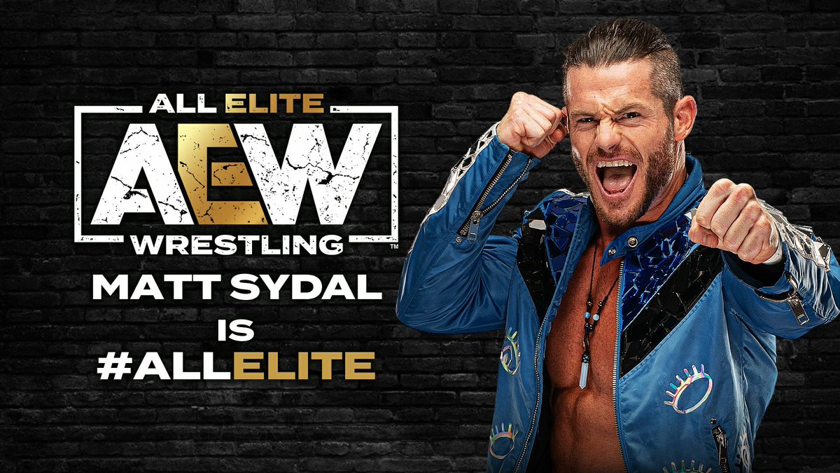AEW Signs Matt Sydal