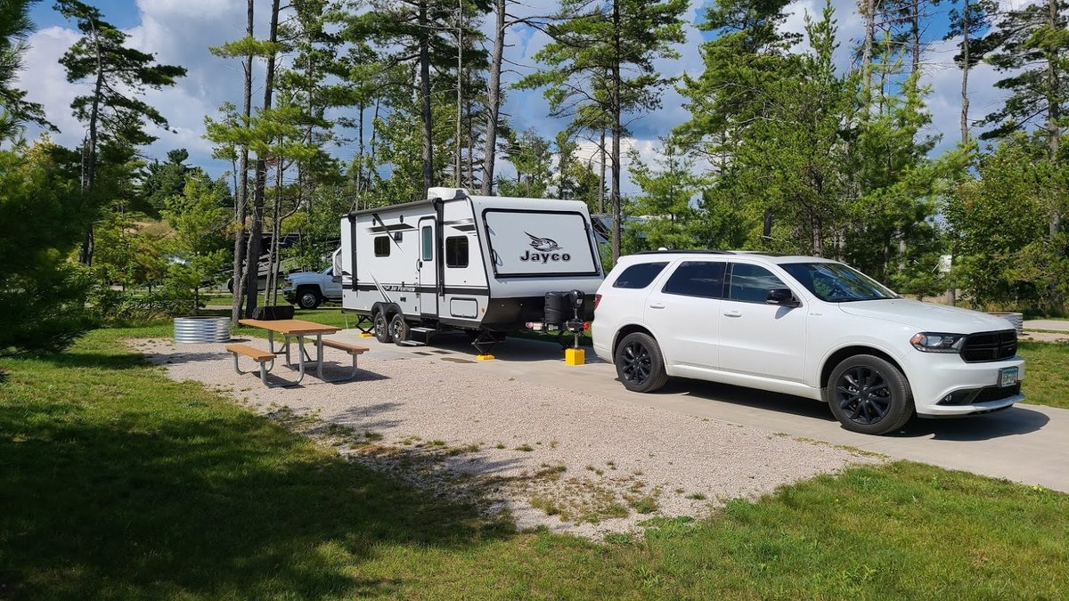 What's it like towing with a V6? We were nervous going into this season, but learned more about what our tow vehicle can do. Today I talk about towing with our V6 Durango.  Video ->   #takethefirststep #rvtravel #lifeontheroad #dodgedurangotowing