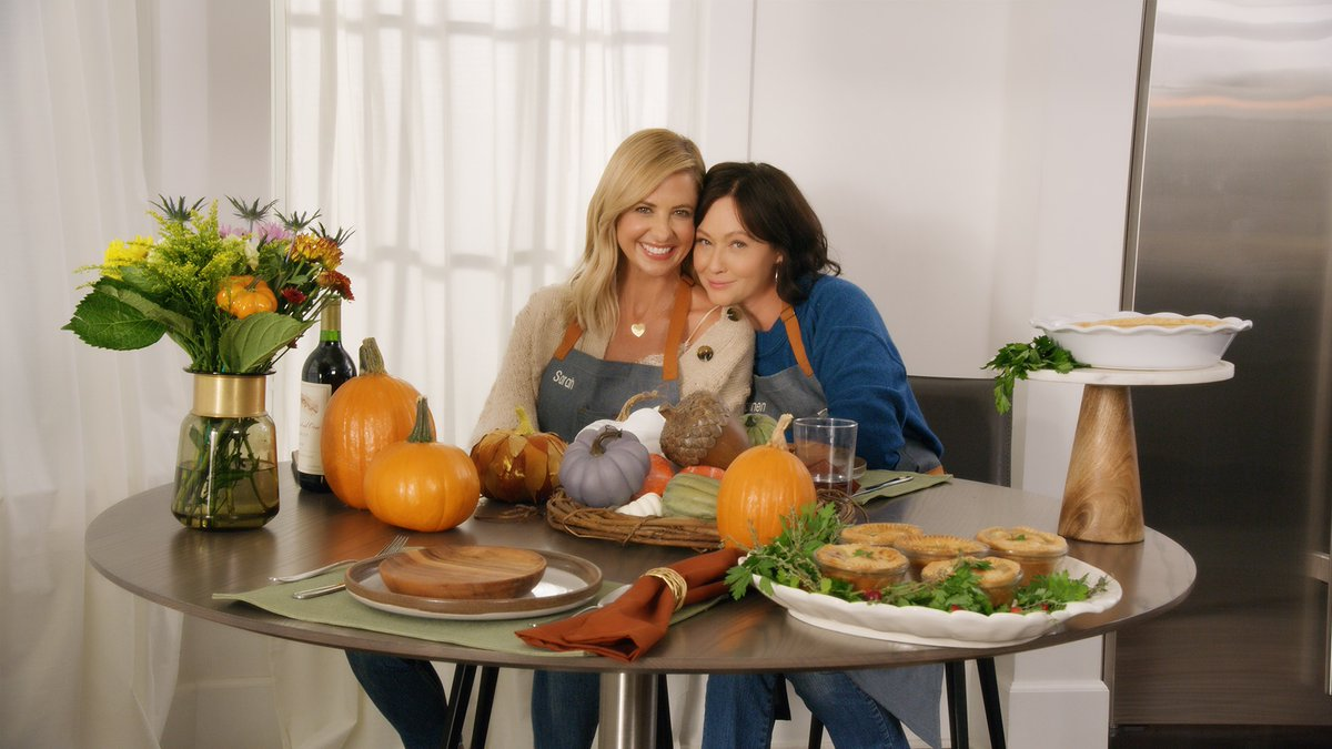 .@SarahMGellar may have written the recipe, but @DohertyShannen did the cooking! @Kroger #ad