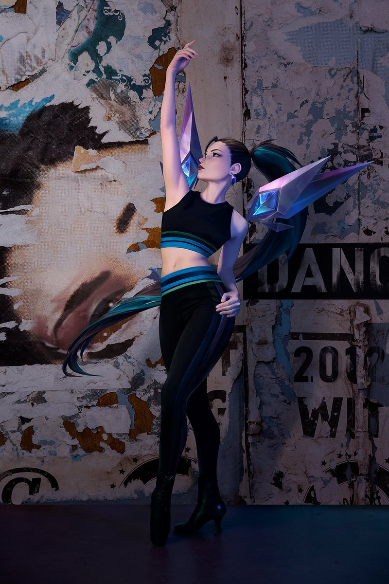 Chaos can be poised. You have to be yourself. You have to do what they said you couldnt. You have to jump higher, leap further, and spin faster. Life is simply too short not to dance. #KDA #ALLOUT #DRUMGODUM
