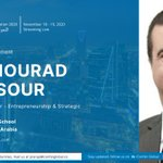 Image for the Tweet beginning: KBS's Dr. Mourad Mansour is