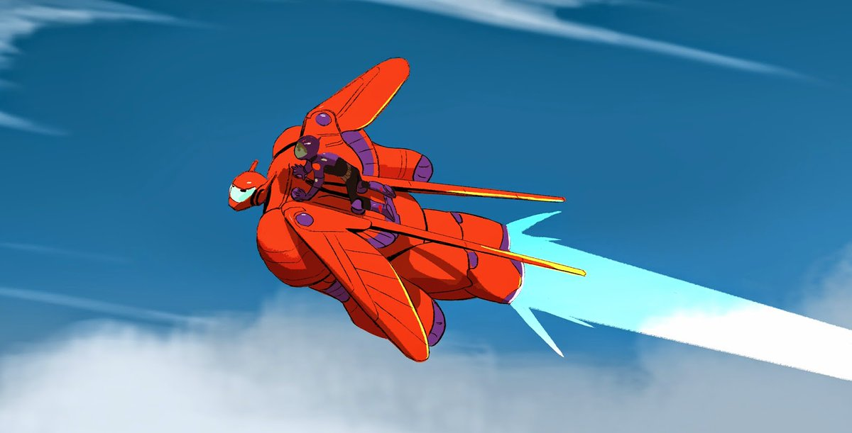 Concept art by Kevin Nelson for Big Hero 6 (2014), dir. Don Hall and Chris Williams, Walt Disney Animation Studios
