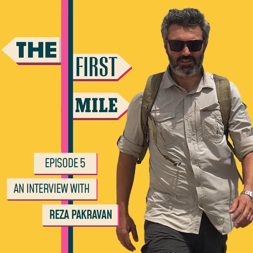 Ash Bhardwaj On Twitter New Episode Of Thefirstmile Up Reza Reveals How He Made His Amazon Prime Series World S Most Dangerous Borders Https T Co Ngvt72usch Https T Co Vlp8jri0gl