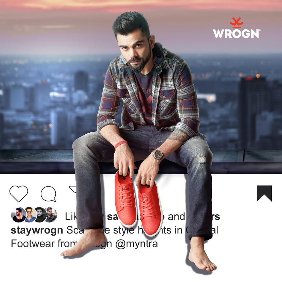 Conquer the world one step at a time with Casual Footwear from Wrogn 👍 @myntra Visit the link below to check out these fab footwear styles and walk the Wrogn path with me! @StayWrogn #staymad #staywrogn