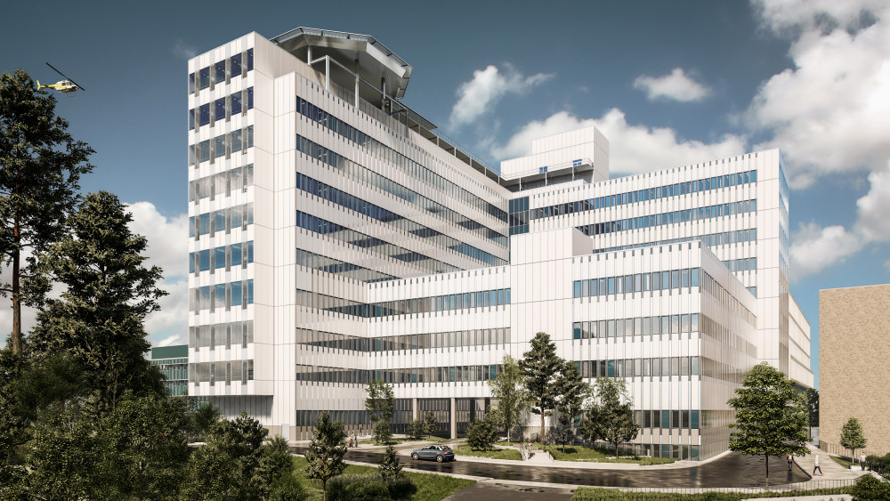 En ny modern vårdbyggnad blir verklighet vid Danderyds sjukhus https://t.co/7E4U5khDUD https://t.co/18oCEHHEhp