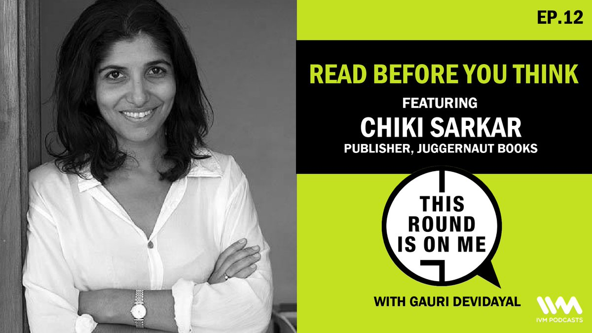 This week, @GauriDetails is joined by @ChikiSarkar, publisher @JuggernautBooks.  A visionary entrepreneur who had the foresight to adapt her publishing house to the ever-evolving digital space well before the lockdown.  Tune in for an exciting conversation: