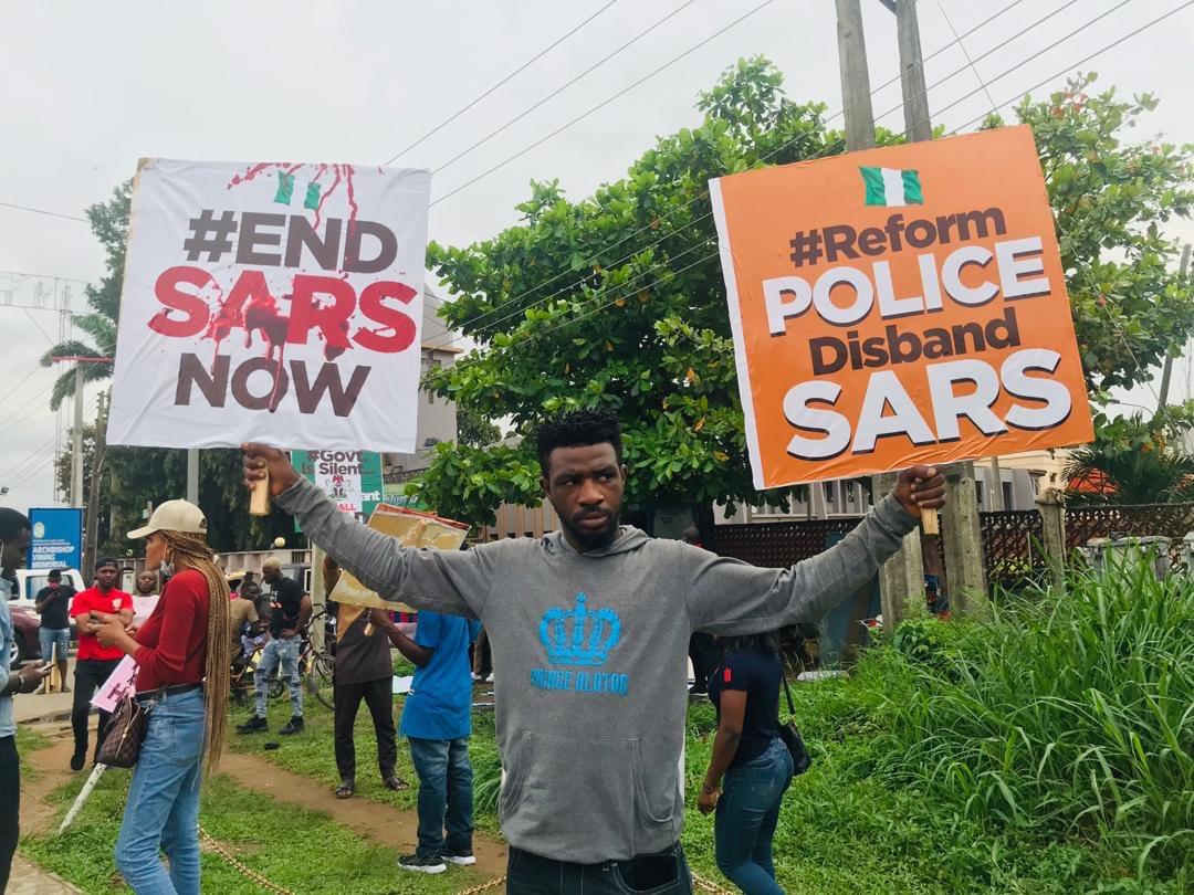 @AyowoleSanyaolu's photo on #EndSARS
