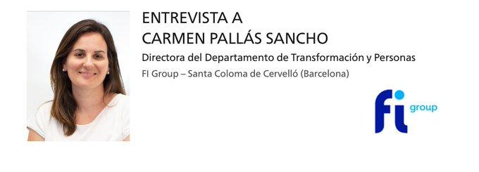 🎤 🗣️ Entrevista a Carmen Pallás, Directora del Departamento de Transformación y Person....