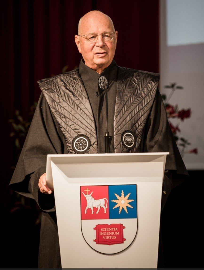 James Paul on Twitter Why is Klaus Schwab openly telling everyone his  evil plans He is DELIBERATELY making himself a target The reason he  looks and is dressed like this is so