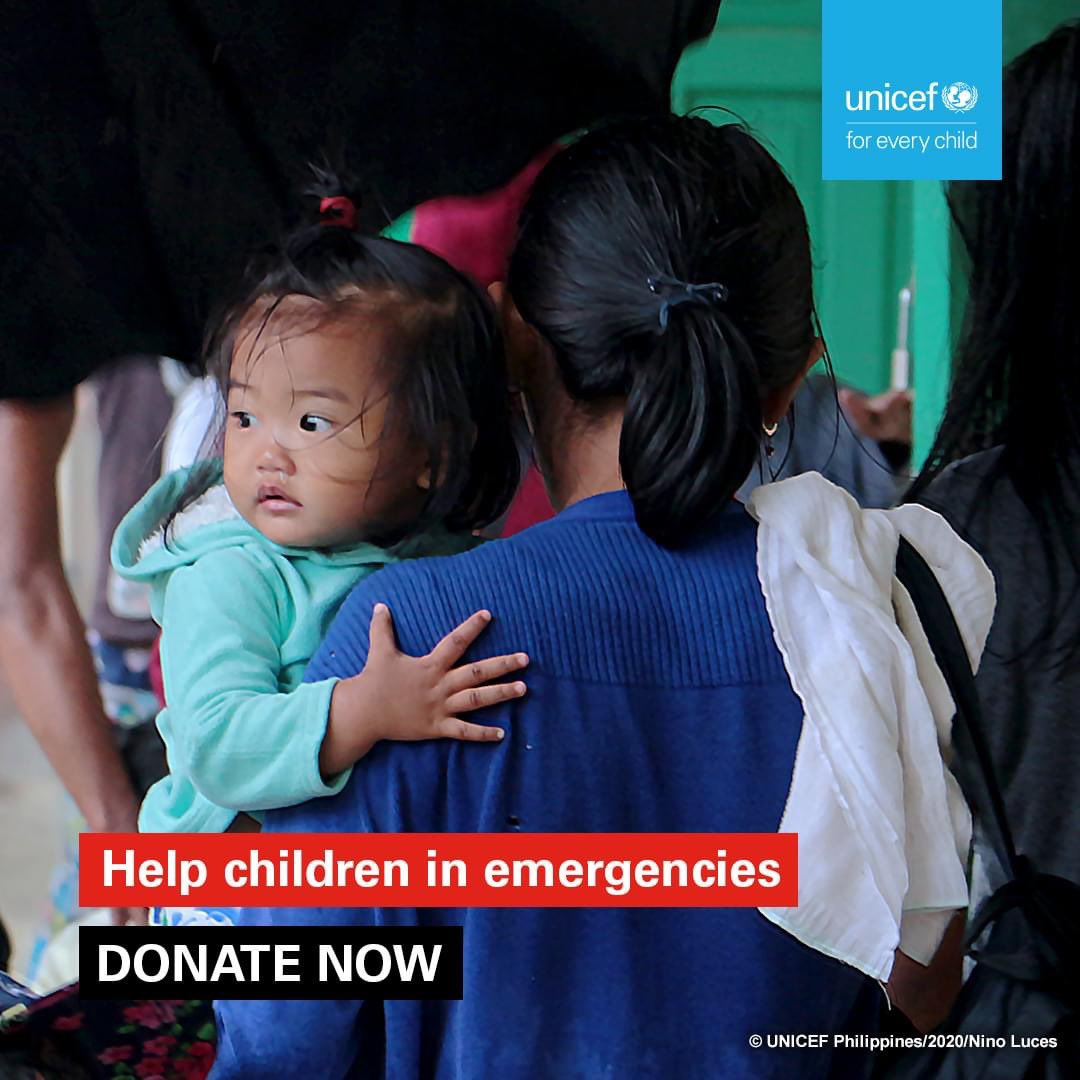 Here are all the ways you can donate to @unicefphils to help them reach more typhoon affected areas 💙 THANK YOU!