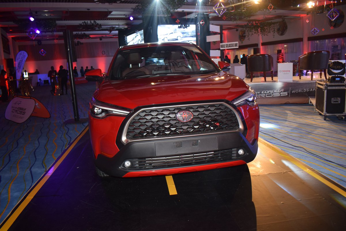 Toyota Kenya has launched the Corolla Cross in the Kenyan market, a crossover for the Corolla from the traditional sedan to a new compact SUV feel. #DriveBrandNew #AnewJourney  #ToyotaCorollaCrossKenya https://t.co/6K2zc73ZCB